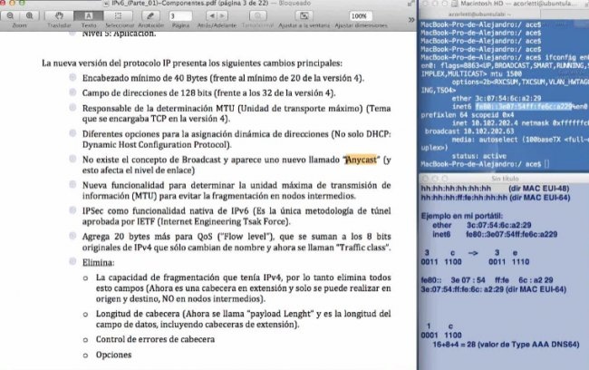 IP versi&oacute;n 6 (Parte 01) . Sus componentes. Por Alejandro Corletti. Webinar de 1 hora y media.