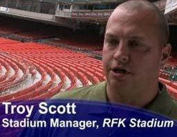 Videovigilancia en RFK Stadium por ASG Security. Caso de estudio en video.