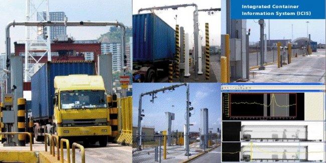 Sistema para la inspección de containers, de SAIC