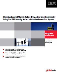 Redbook sobre cómo detener las amenazas en Internet con IBM Security Network Intrusion Prevention System