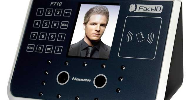 Biometría de reconocimiento facial 3D Hanvon, distribuida en exclusiva por Kimaldi