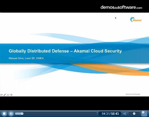 Introducción a los servicios de seguridad Internet de Akamai. Webinar de 1 hora.