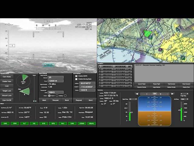 Entornos virtuales de entrenamiento para operadores de aviones no tripulados, con Presagis. Webinar en inglés.