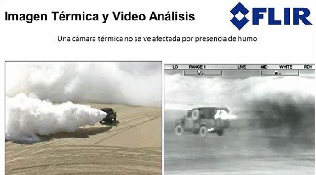 Soluciones de vídeo-análisis basadas en imagen térmica, por Flir. Webinar de 1 hora.