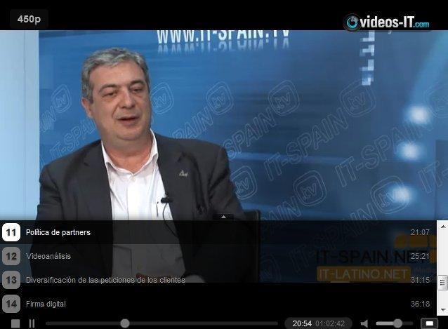 Firma Digital en Videovigilancia, reconocimiento facial, cámaras térmicas, videoanálisis... Video-entrevista al Director de A5 Security
