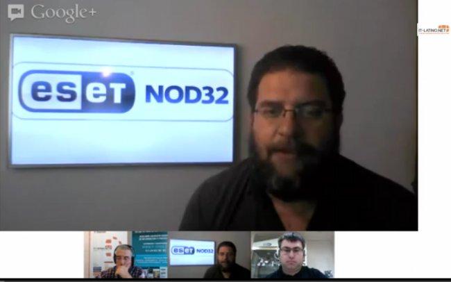 Informe sobre Ciberseguridad 1er cuatrimestre. Charlamos con los expertos de ESET NOD32. Webinar de 40 minnutos.