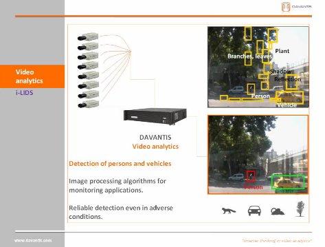 Video Análisis. Nuevas soluciones de seguridad. Por Davantis. Webinar de 40 minutos.