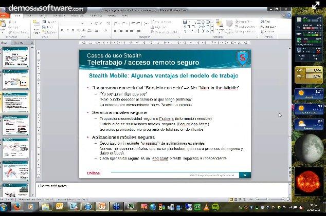 Unisys Stealth: Ciberseguridad militar para la empresa. Webinar de 1 hora y media. Por Unisys España.