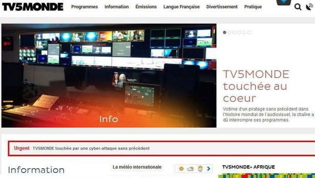 Trend Micro explica el ciberataque TV5 Monde